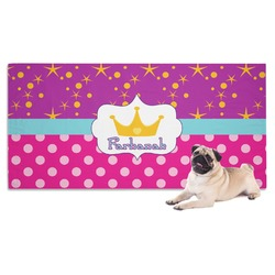 Sparkle & Dots Pet Towel (Personalized)