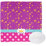 Sparkle & Dots Wash Cloth (Personalized)