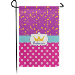 Sparkle & Dots Garden Flag - Single or Double Sided (Personalized)