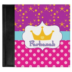 Sparkle & Dots Genuine Leather Baby Memory Book (Personalized)