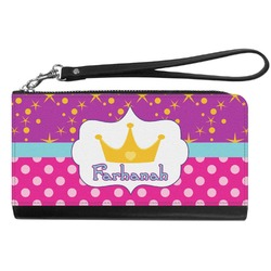 Sparkle & Dots Genuine Leather Smartphone Wrist Wallet (Personalized)