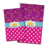 Sparkle & Dots Golf Towel - Full Print w/ Name or Text