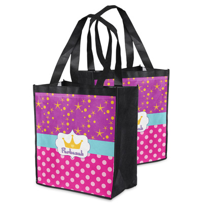 Sparkle & Dots Grocery Bag (Personalized)