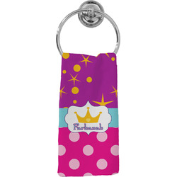 Sparkle & Dots Hand Towel - Full Print (Personalized)