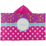 Sparkle & Dots Kids Hooded Towel (Personalized)