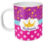 Sparkle & Dots Plastic Kids Mug (Personalized)