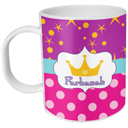 Sparkle & Dots Plastic Kids Mug (Personalized)