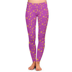 Sparkle & Dots Ladies Leggings - Large (Personalized)
