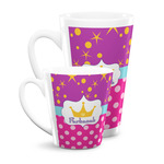 Sparkle & Dots Latte Mug (Personalized)