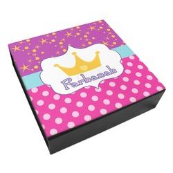 Sparkle & Dots Leatherette Keepsake Box - 3 Sizes (Personalized)