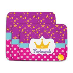 Sparkle & Dots Memory Foam Bath Mat (Personalized)