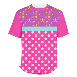 Sparkle & Dots Men's Crew T-Shirt (Personalized)