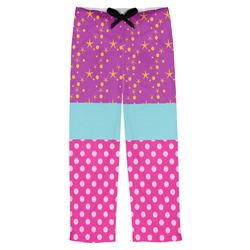 Sparkle & Dots Mens Pajama Pants (Personalized)