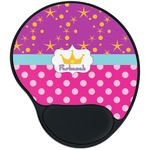 Sparkle & Dots Mouse Pad with Wrist Support