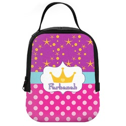 Sparkle & Dots Neoprene Lunch Tote (Personalized)