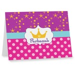 Sparkle & Dots Note cards (Personalized)