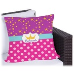 Sparkle & Dots Outdoor Pillow (Personalized)