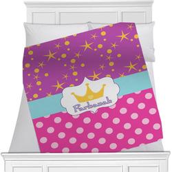 Sparkle & Dots Minky Blanket (Personalized)