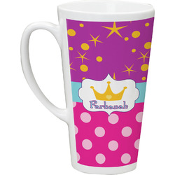 Sparkle & Dots Latte Mug (Personalized)