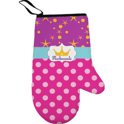Sparkle & Dots Oven Mitt (Personalized)