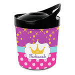 Sparkle & Dots Plastic Ice Bucket (Personalized)