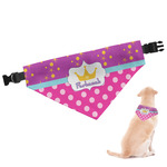 Sparkle & Dots Dog Bandana (Personalized)