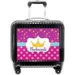 Sparkle & Dots Pilot / Flight Suitcase (Personalized)