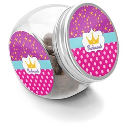 Sparkle & Dots Puppy Treat Jar (Personalized)