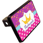 """Sparkle & Dots Rectangular Trailer Hitch Cover - 2"""" w/ Name or Text"""