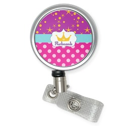 Sparkle & Dots Retractable Badge Reel (Personalized)