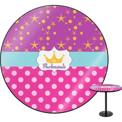 "Sparkle & Dots Round Table - 30"" (Personalized)"