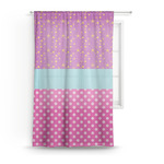 Sparkle & Dots Sheer Curtains (Personalized)