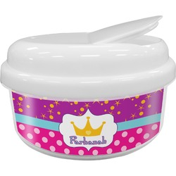 Sparkle & Dots Snack Container (Personalized)