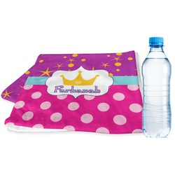Sparkle & Dots Sports & Fitness Towel (Personalized)