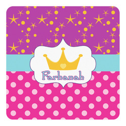 Sparkle & Dots Square Decal (Personalized)