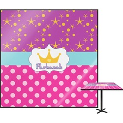 Sparkle & Dots Square Table Top (Personalized)