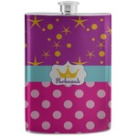 Sparkle & Dots Stainless Steel Flask (Personalized)