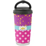 Sparkle & Dots Stainless Steel Travel Mug (Personalized)