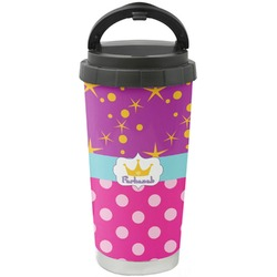 Sparkle & Dots Stainless Steel Coffee Tumbler (Personalized)