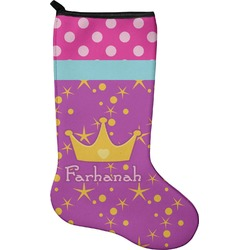 Sparkle & Dots Christmas Stocking - Neoprene (Personalized)