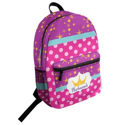 Sparkle & Dots Student Backpack (Personalized)