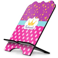 Sparkle & Dots Stylized Tablet Stand (Personalized)