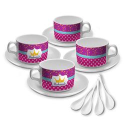 Sparkle & Dots Tea Cup - Set of 4 (Personalized)