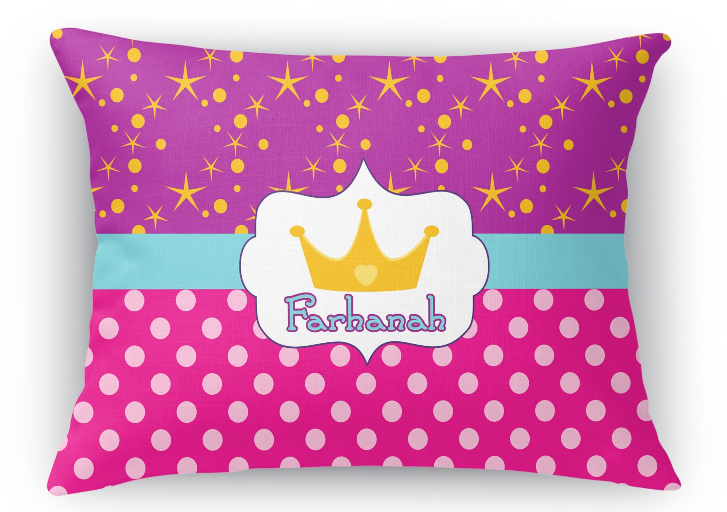 Rectangular Throw Pillow Dimensions : Sparkle & Dots Rectangular Throw Pillow - 18