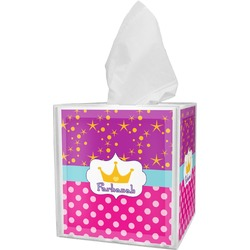 Sparkle & Dots Tissue Box Cover (Personalized)