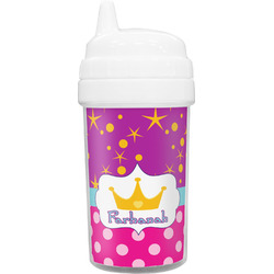 Sparkle & Dots Sippy Cup (Personalized)
