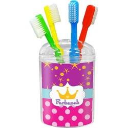 Sparkle & Dots Toothbrush Holder (Personalized)