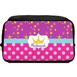 Sparkle & Dots Toiletry Bag / Dopp Kit (Personalized)