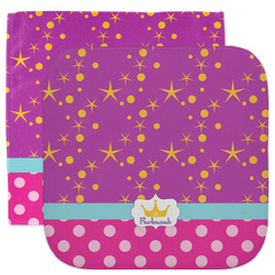 Sparkle & Dots Facecloth / Wash Cloth (Personalized)
