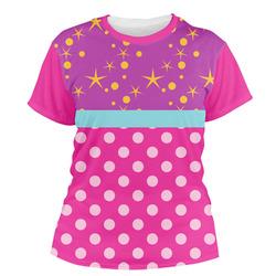 Sparkle & Dots Women's Crew T-Shirt (Personalized)